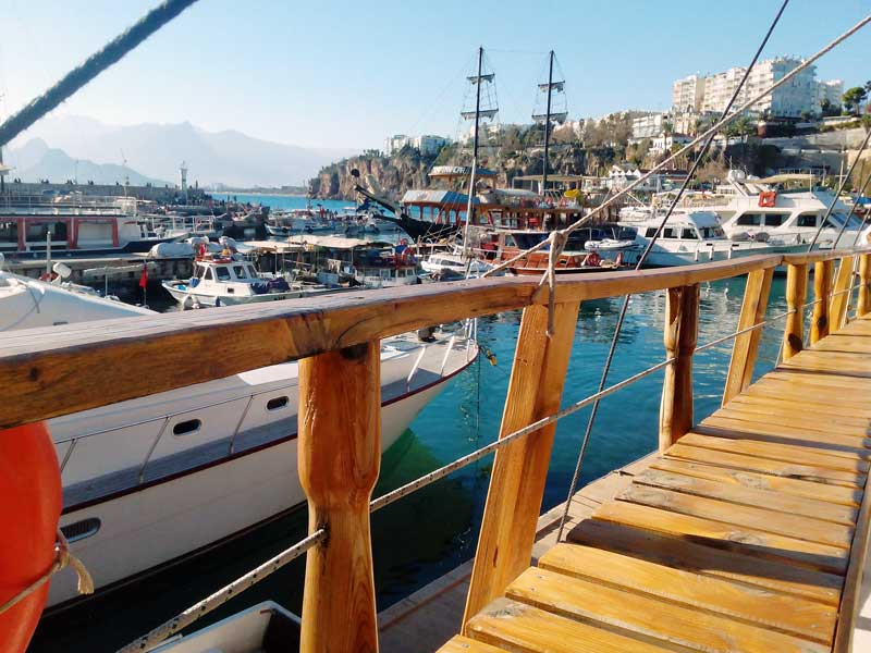 Turkey - Antalya Harbour